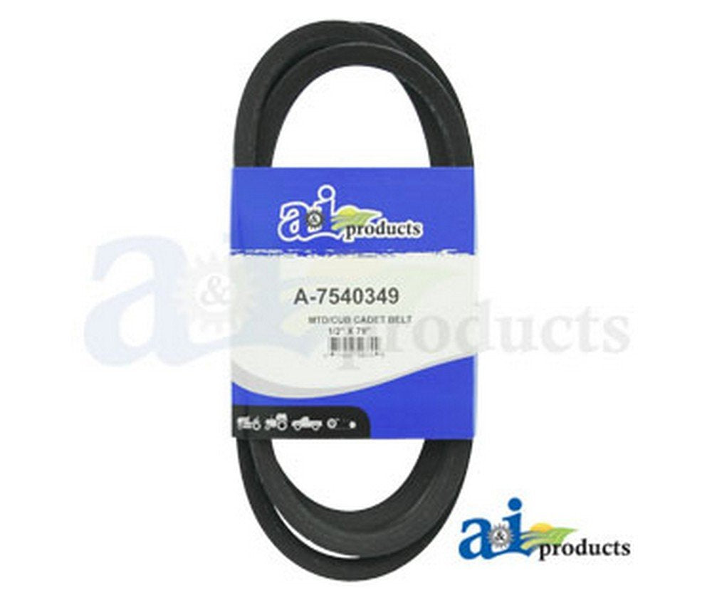 "A&I - Belt, Drive (46"" deck). PART NO: A-7540349"