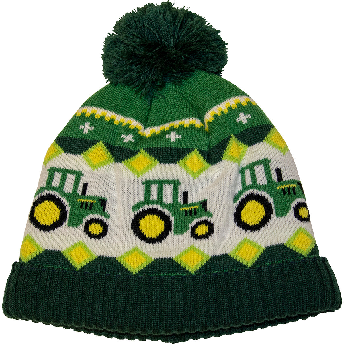 John Deere Boys Toddler Knit Beanie (Green) - LP70706