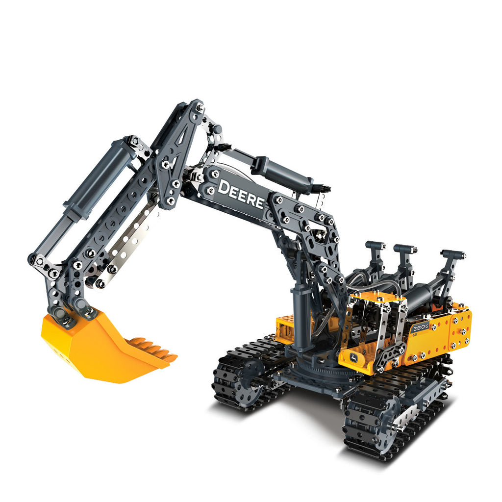 John Deere 380G Excavator Erector Set by Meccano - LP68680