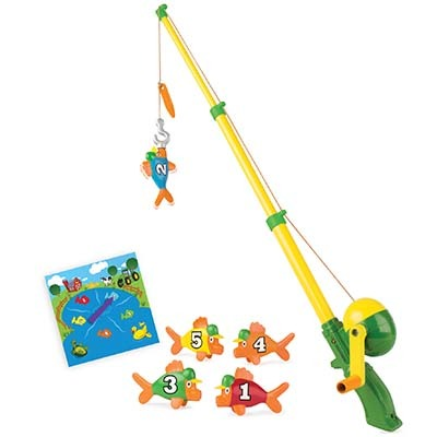 John Deere Farm Pond Fish Adventure Game / Toy - TBEK35073
