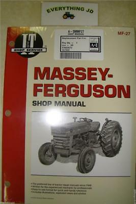 I&T Shop Service Massey Ferguson MF135, MF150, MF165 - A-SMMF27