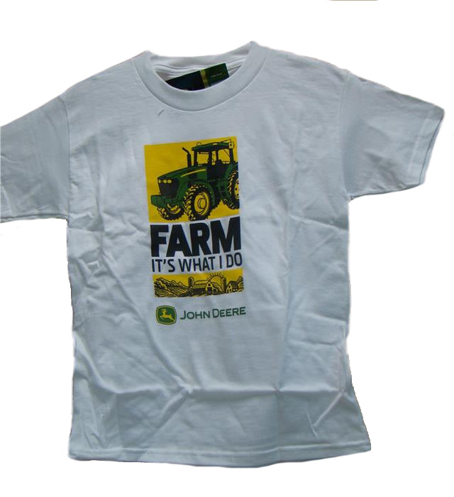 "John Deere Youth ""Its What I Do"" T-Shirt (LARGE) - LP31735"