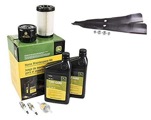 John Deere Original Equipment Full Maintenance Kit - LG275 + AM141034 Blade Kit