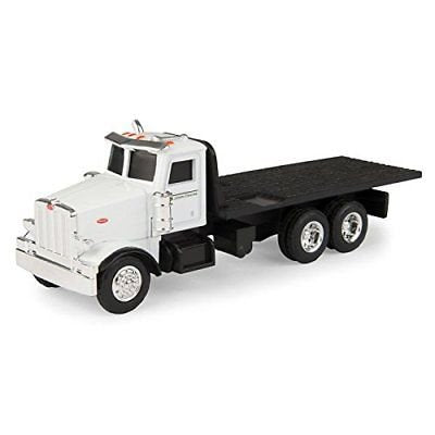 ERTL 1/64 Collect N Peterbilt Flatbed Truck Toy - LP68220