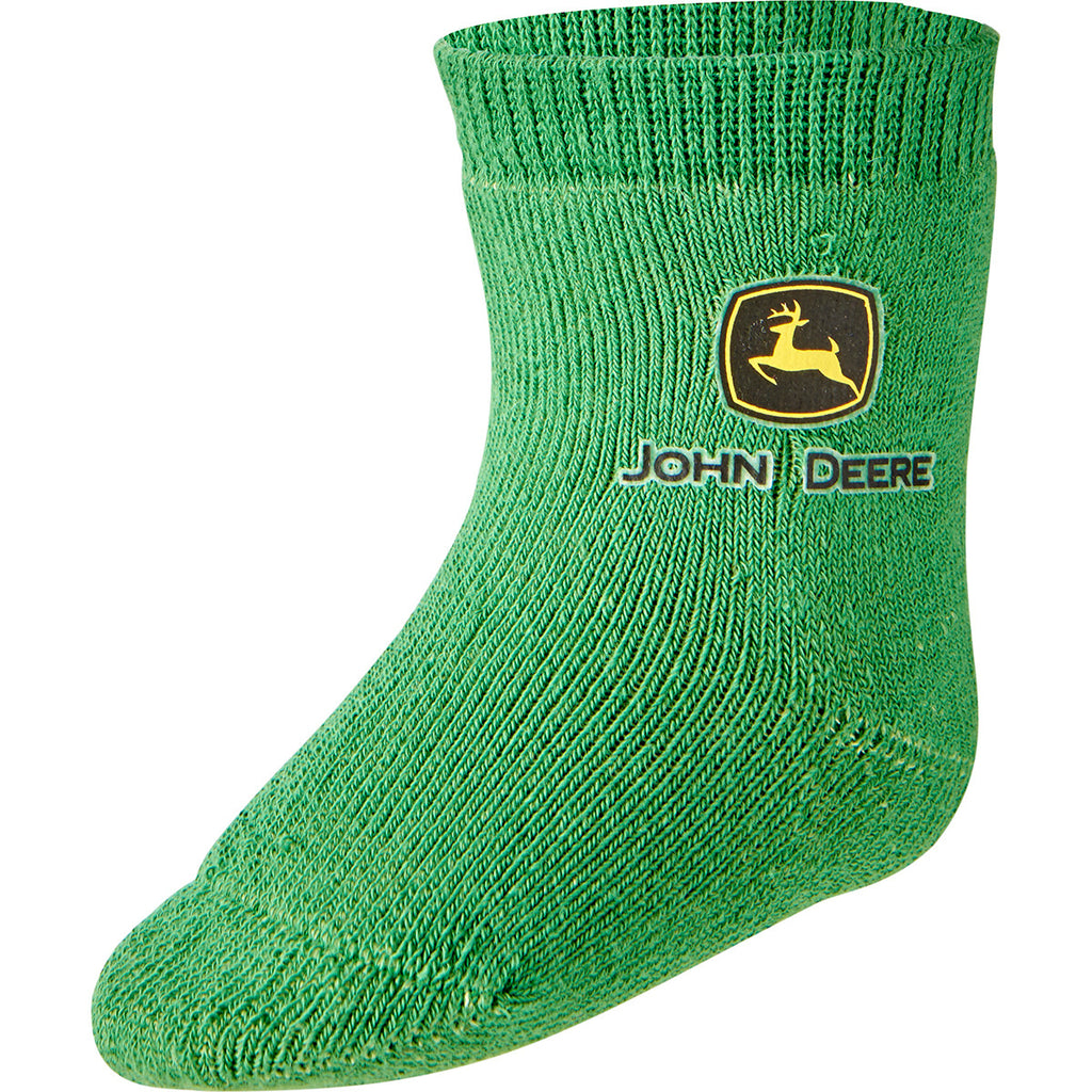 John Deere Logo Infant Crew Sock Green - LP64359