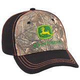 John Deere Authentic Licensed Camouflage and Black Cap - LP69081