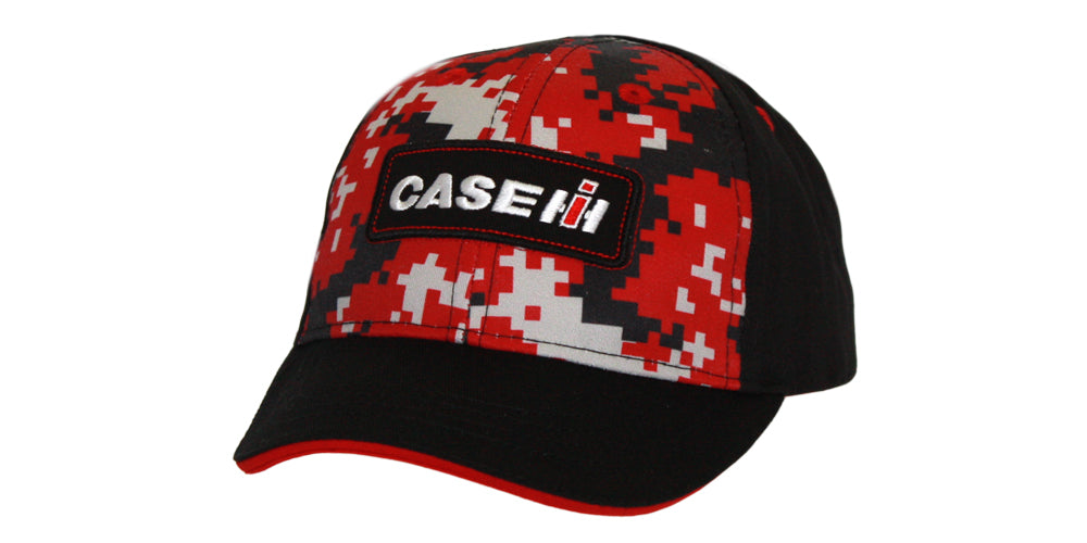 Case IH Digi Red Camo Youth Hat/Cap - 15CIH067-YTH