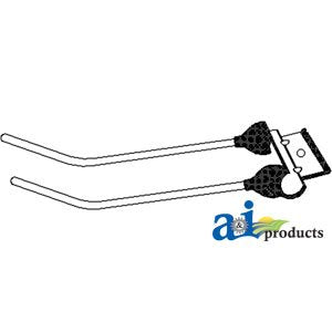 A&I Products Rubber Mtd Tooth - 2 Prong Replacement for Massey Ferguson Par...