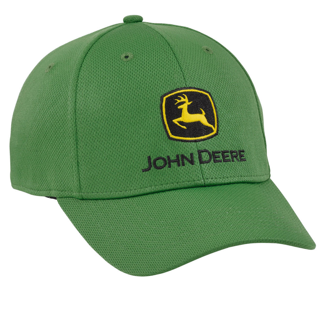 John Deere Green Fitted Performance Cap - LP69122