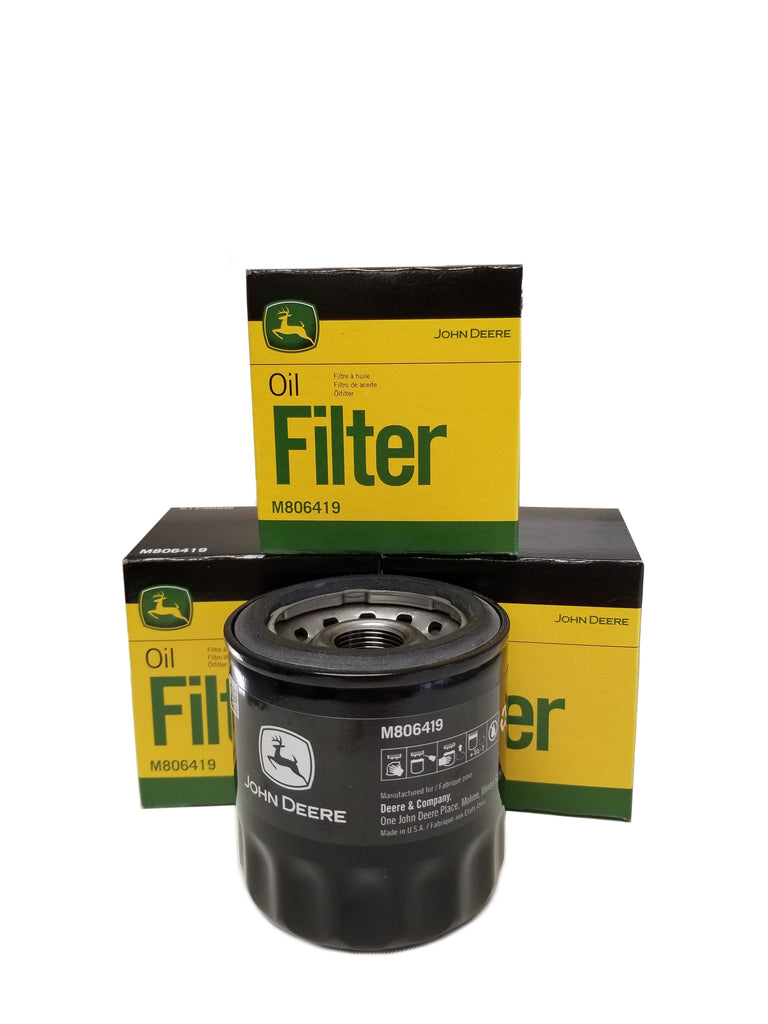 John Deere Original Equipment Oil Filter #M806419 (4-Pack)