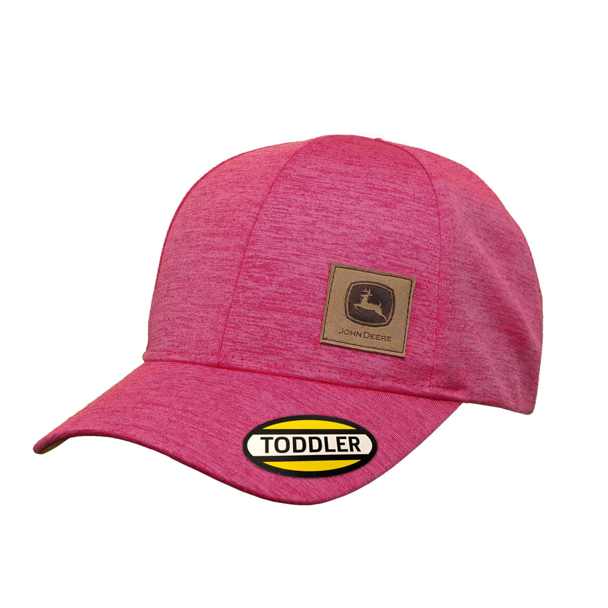 John Deere Pink Toddler Hat/Cap with Suede patch logo - LP71417