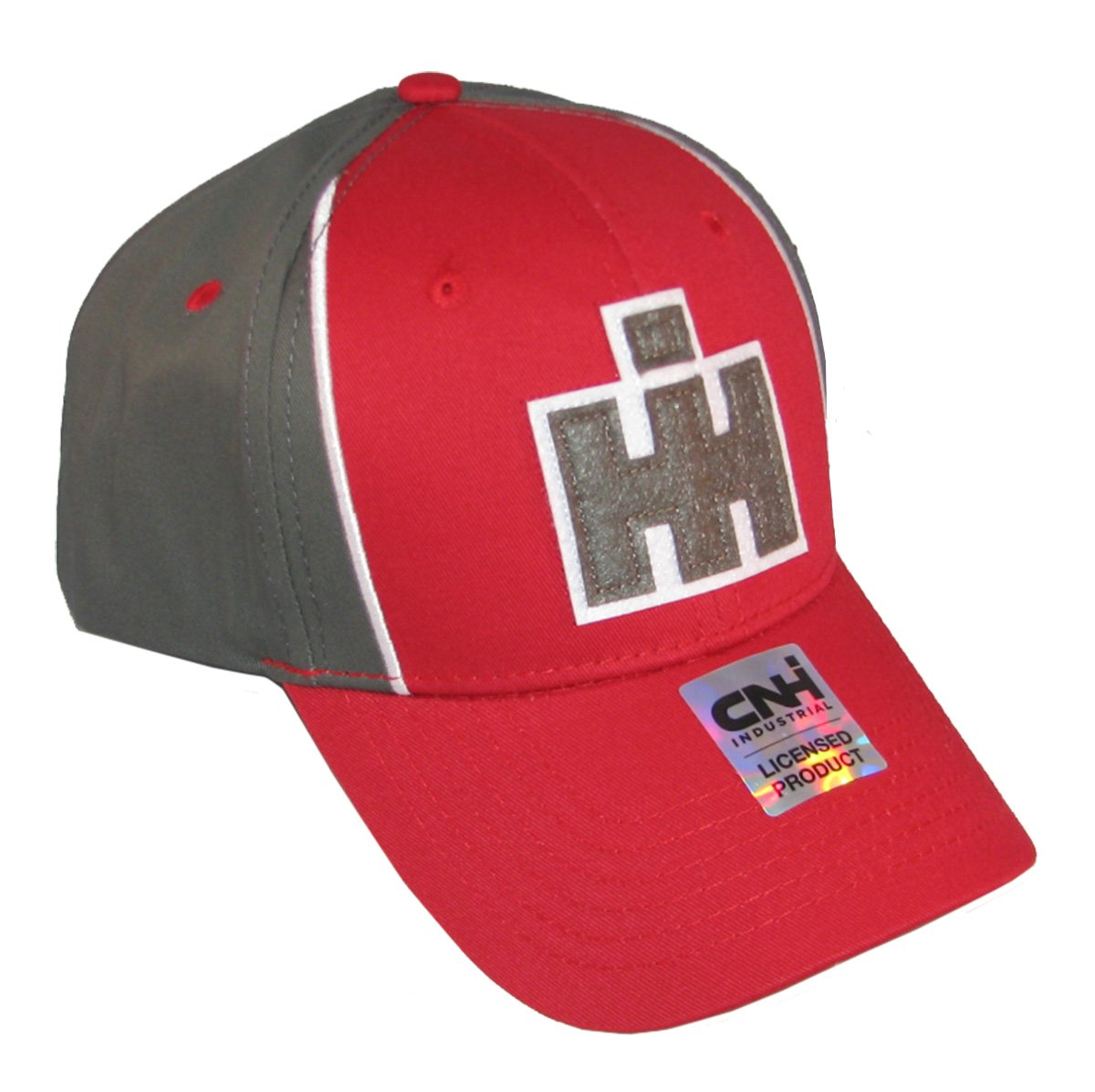 IH Two Tone Grey and Red Patch Logo Cap/Hat - 16IH094