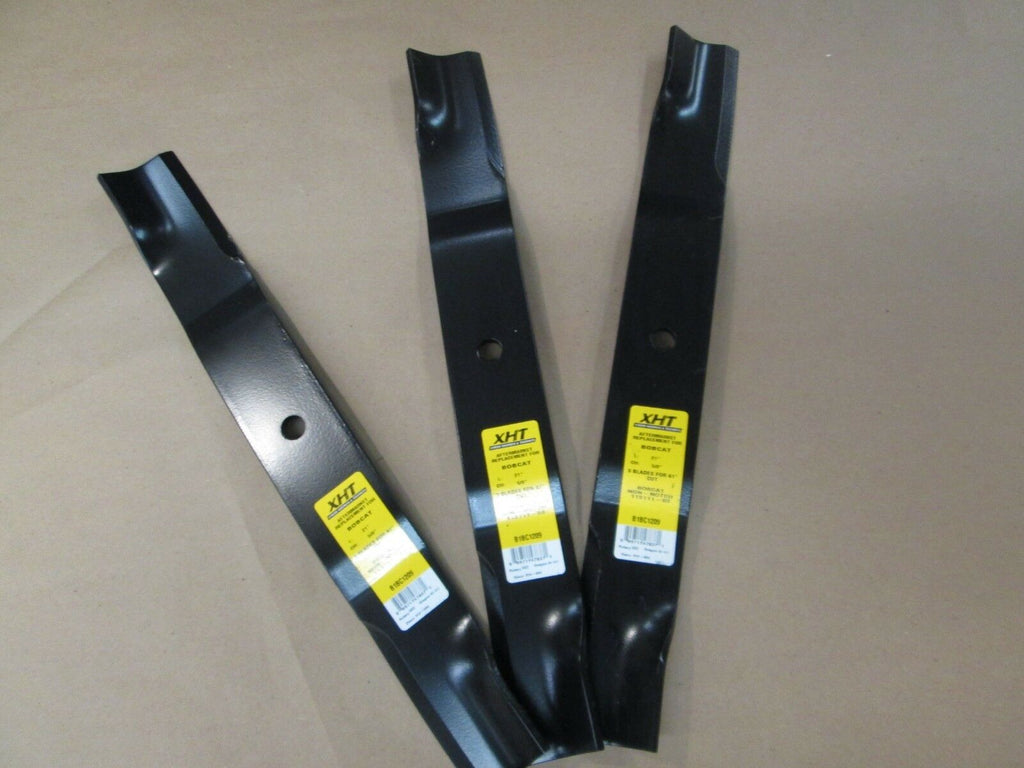 THREE Replacement Blades for Bobcat 113111-03   - B1BC1209