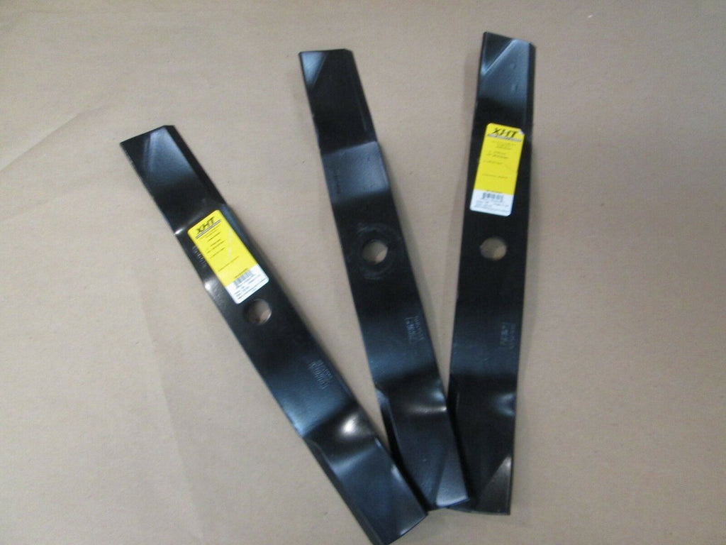 THREE Replacement Blades for John Deere M136195 - B1JD1039