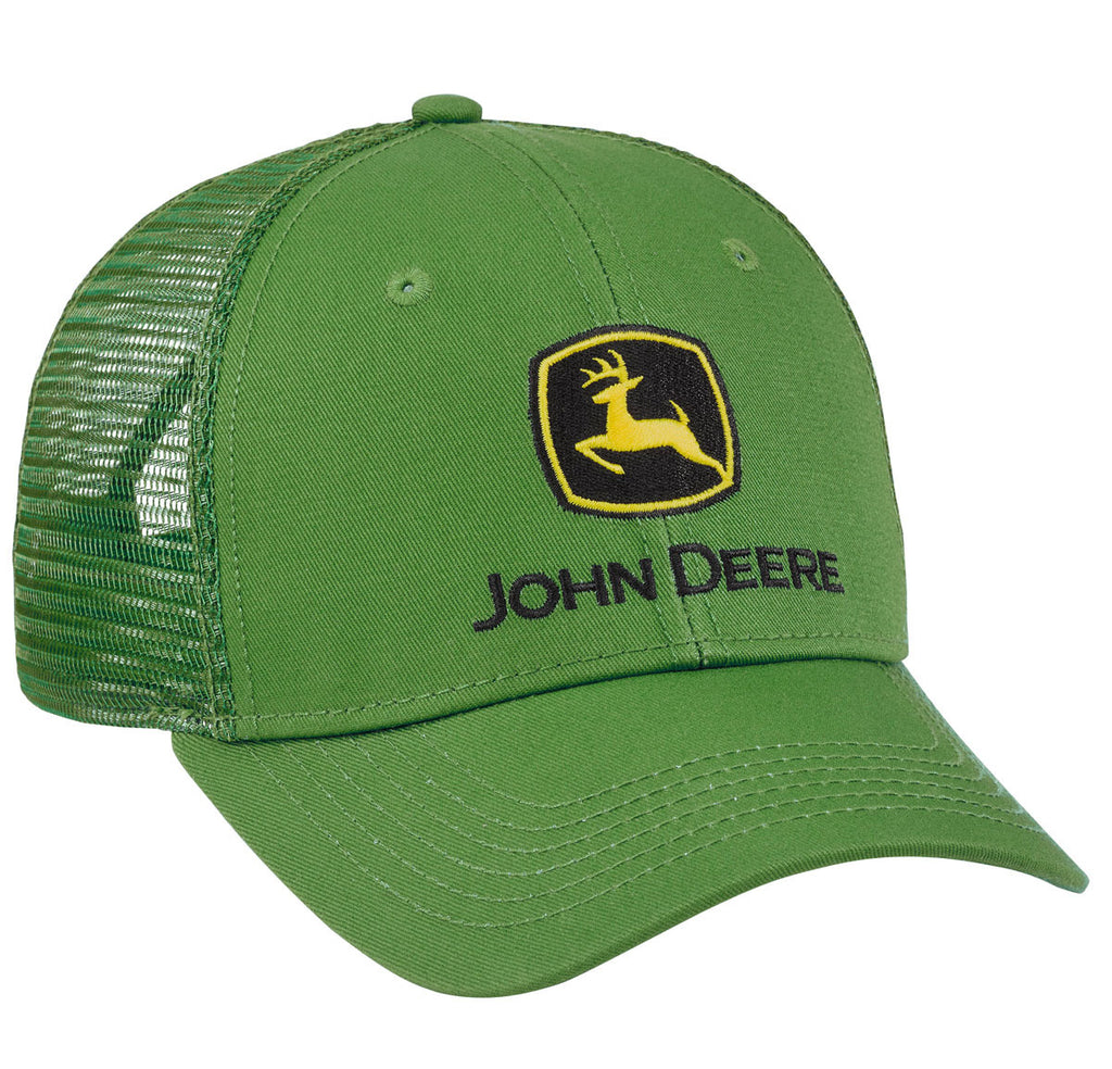 John Deere Men's Green Chino with Mesh Hat/Cap - LP69069
