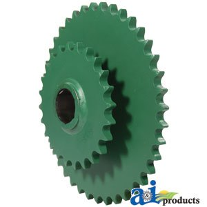 A&I Products Lower Drive Double Roll Sprocket Part no. A-AE54302