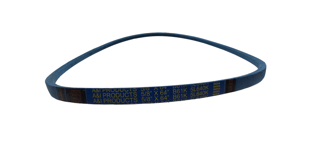 "A&I - Blue V-Belt (5/8"" X 64"") - A-B61K"