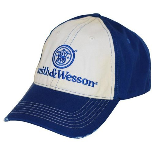 S&W Two Tone Distressed Logo Cap - A1014