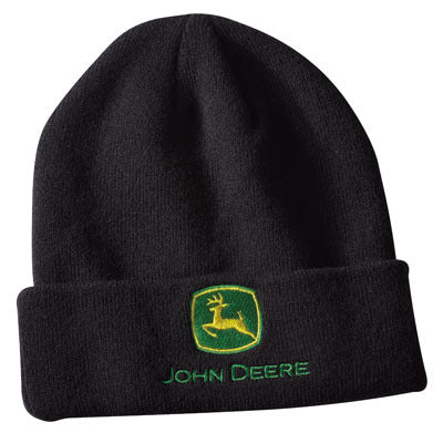 John Deere Black Knit Cap - LP64863