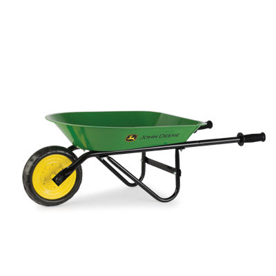 John Deere Green Steel Children's Wheel Barrow - LP68157