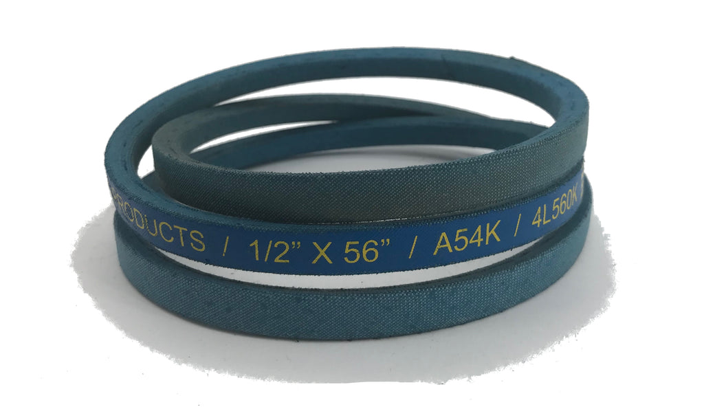 "A&I Products Blue V-Belt 1/2"" X 56"" - A-A54K"