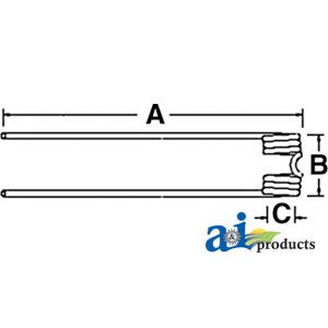 A&I Products TEDDER TOOTHTONUTTI RAKE PART NO: A-010940