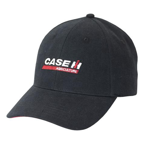 Case IH Enzyme Washed Black Logo Cap/Hat - A2347