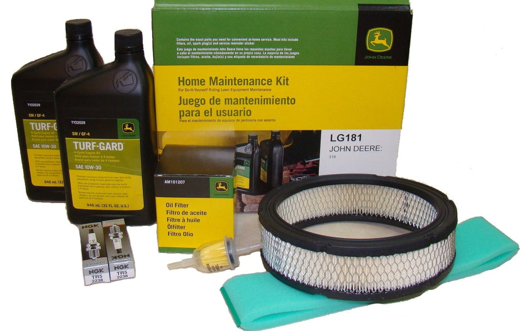 John Deere Original Equipment Filter Kit #LG181