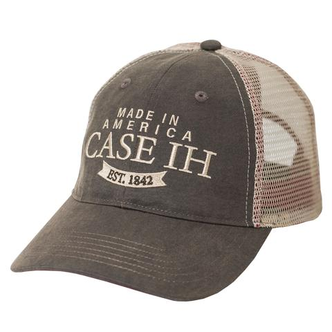 Case IH Two-Tone Oil Cloth Trucker Cap - A2341