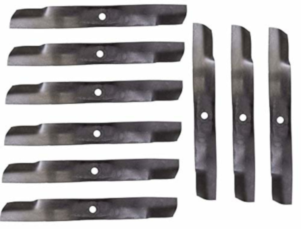 John Deere Original Equipment Mower Blades (Set of 9) – M158112,9