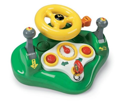 John Deere Lights and Sounds Busy Driver Toy - TBEK34906