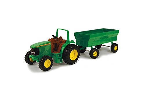 "John Deere 8"" Tractor with Wagon Set - TBEK37163"