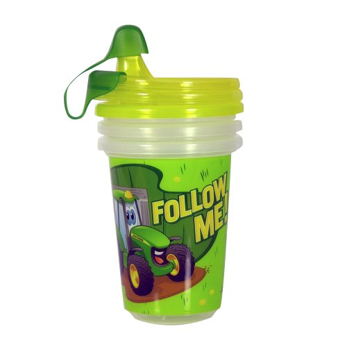 John Deere Sippy Cups (Set of 3) - TBEKY9613