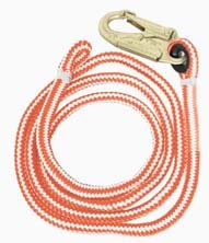 "SUNBELT- Flipline, New England Ropes, Hi-Vee Double-Braid, 1/2"" x 10'. Part No: B1ABFL10"