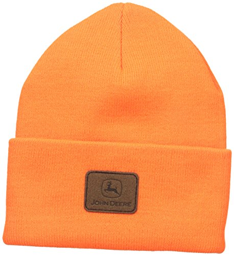 John Deere Knit Stocking Cap (Blaze Orange) - LP47343