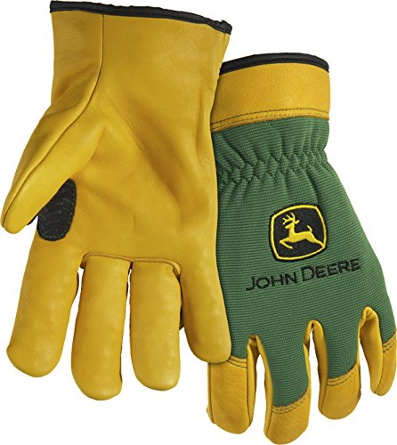 John Deere Deerskin Work Gloves (2XL) - LP47142