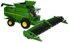 1/32 John Deere S680 Combine with Draper Head Replica by Tomy #46500 - LP64463