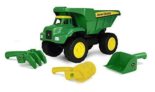 "John Deere 15"" Big Scoop Dump Truck with Sand Tools - LP64760"