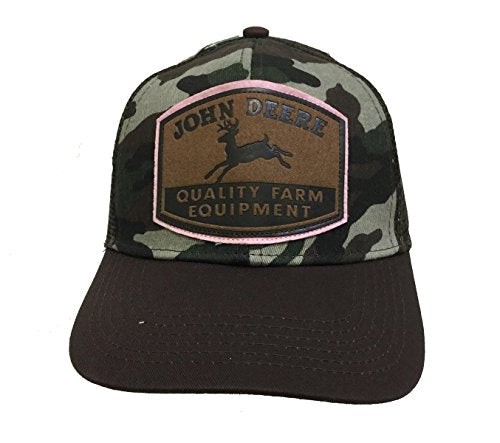 Ladies John Deere Hat / Cap (Camo / Mesh) - LP67034