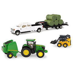 1/32 John Deere Round Bale Haying Toy Set - LP68841