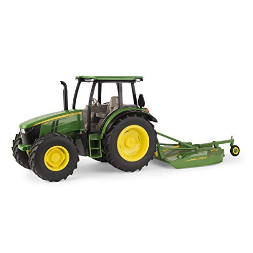 1/16 John Deere 5125R with MX7 Rotary Cutter Toy - LP68839
