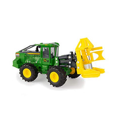John Deere 1/50 843L-II Wheeled Feller Buncher Toy - LP69917