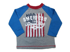 """American Farm Boy"" Raglan T-Shirt"