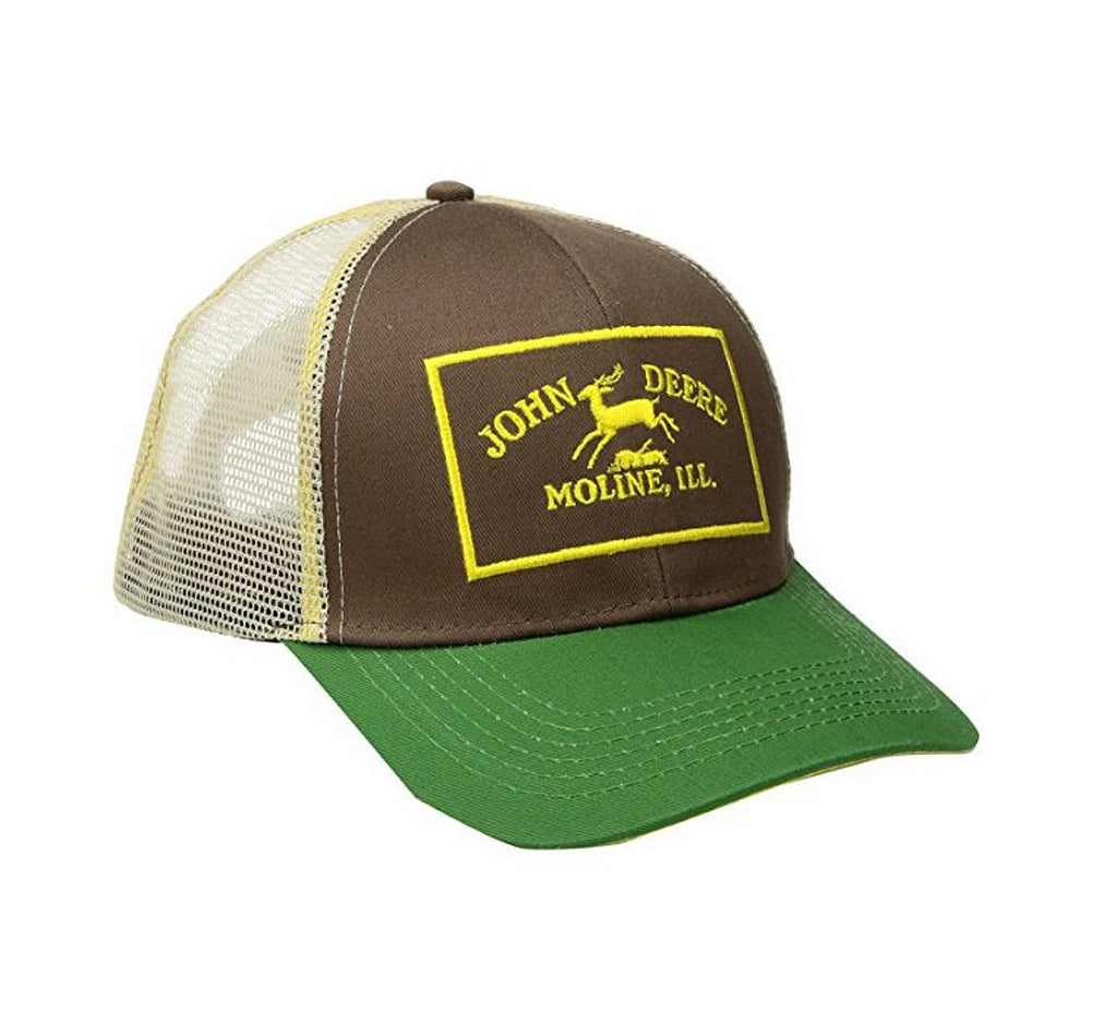 Men's John Deere Historical Logo Hat / Cap - LP67040