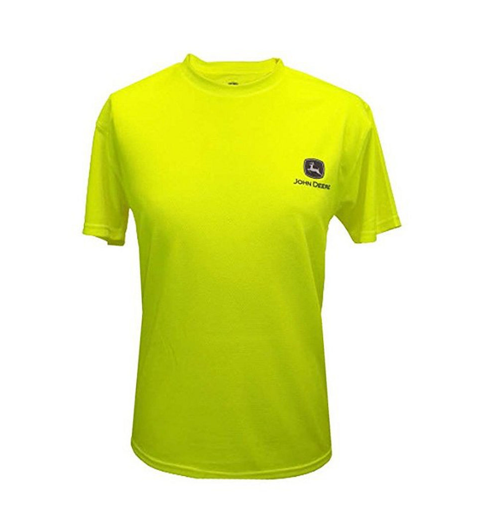 Men's John Deere Neon Yellow T-Shirt