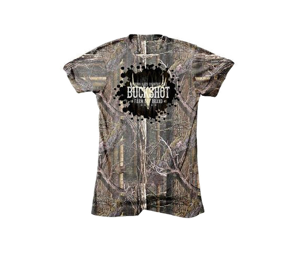 Men's Farm Boy Brand Buckshot T-Shirt - F14133220