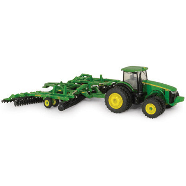 1/64 John Deere 8320R w/637 Disk Toy by Ertl #45479 - LP51306