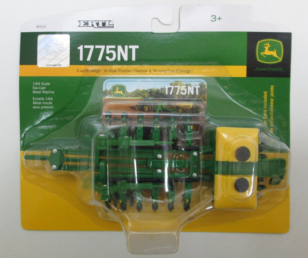 1/64 John Deere 1775NT Planter Toy by Ertl #45513 - LP53304