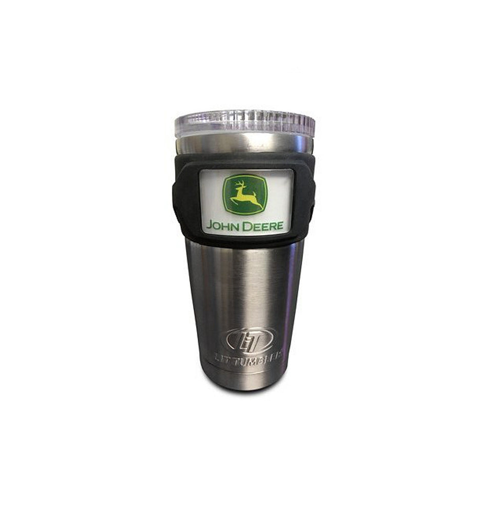 John Deere Stainless Steel Tumbler 20 oz w/ Lighted Logo - LP67434