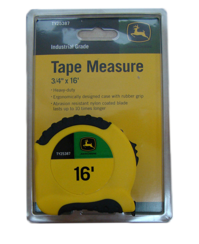 John Deere Pro-Series 3/4-Inch x 16-Foot Tape Measure - TY25387